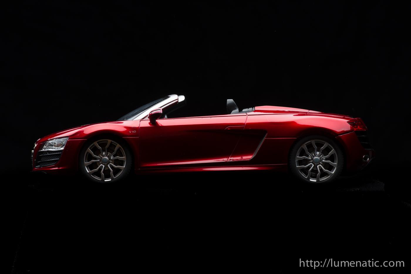Audi R8 shooting