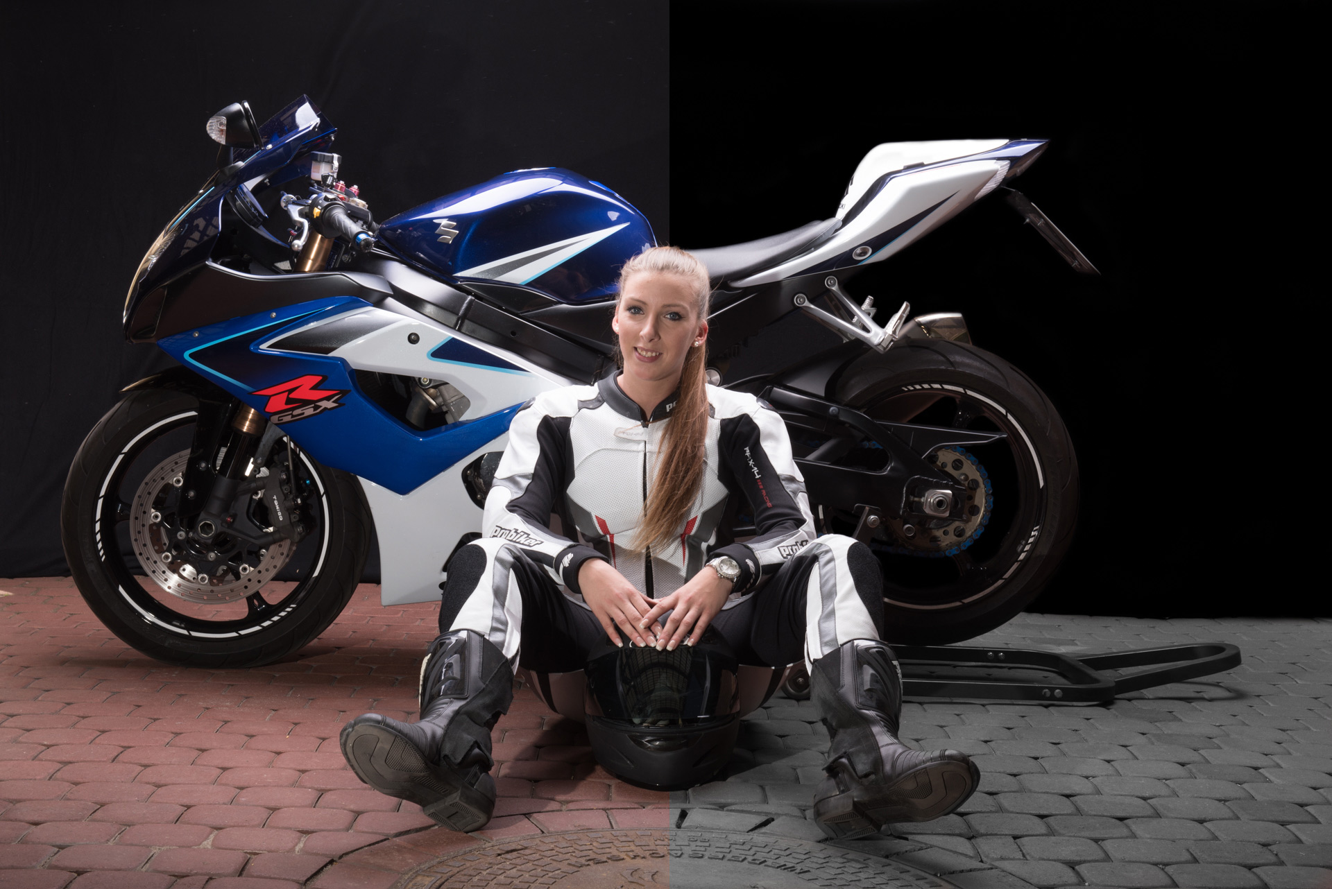 Video: Post-processing a motorcycle studio image