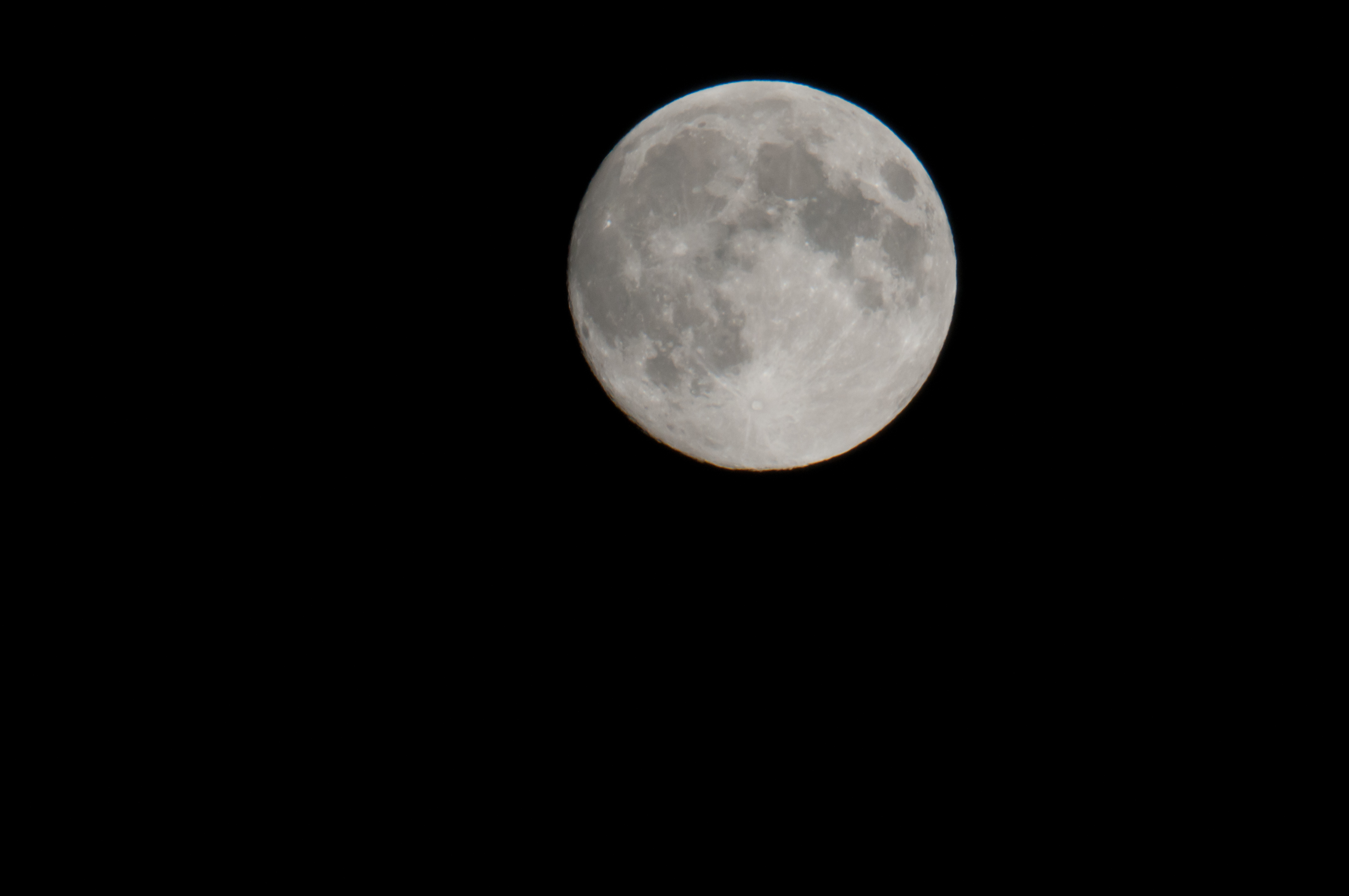 The Moon at 800 mm f8