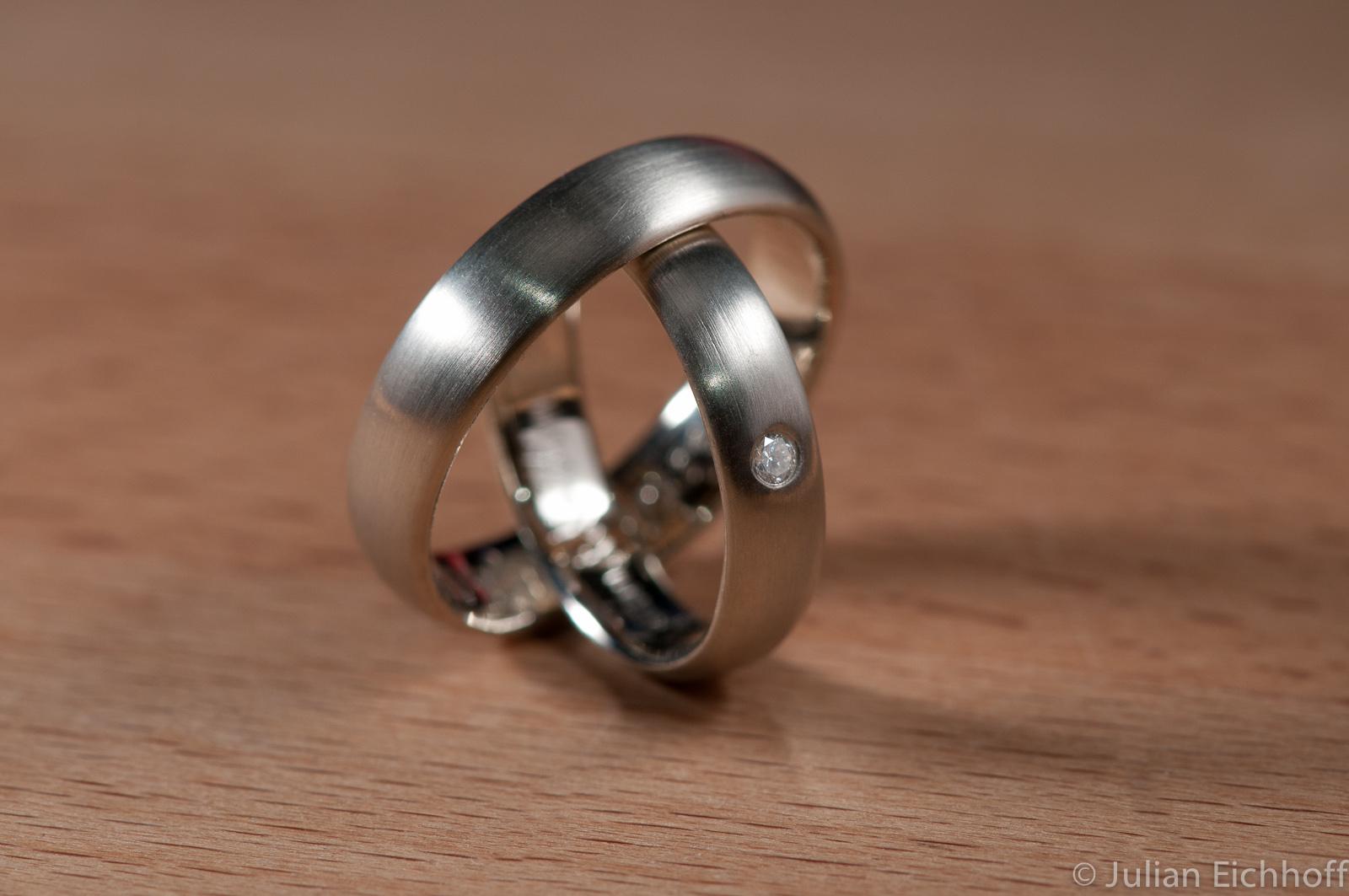 DIY Wedding Rings – Finished