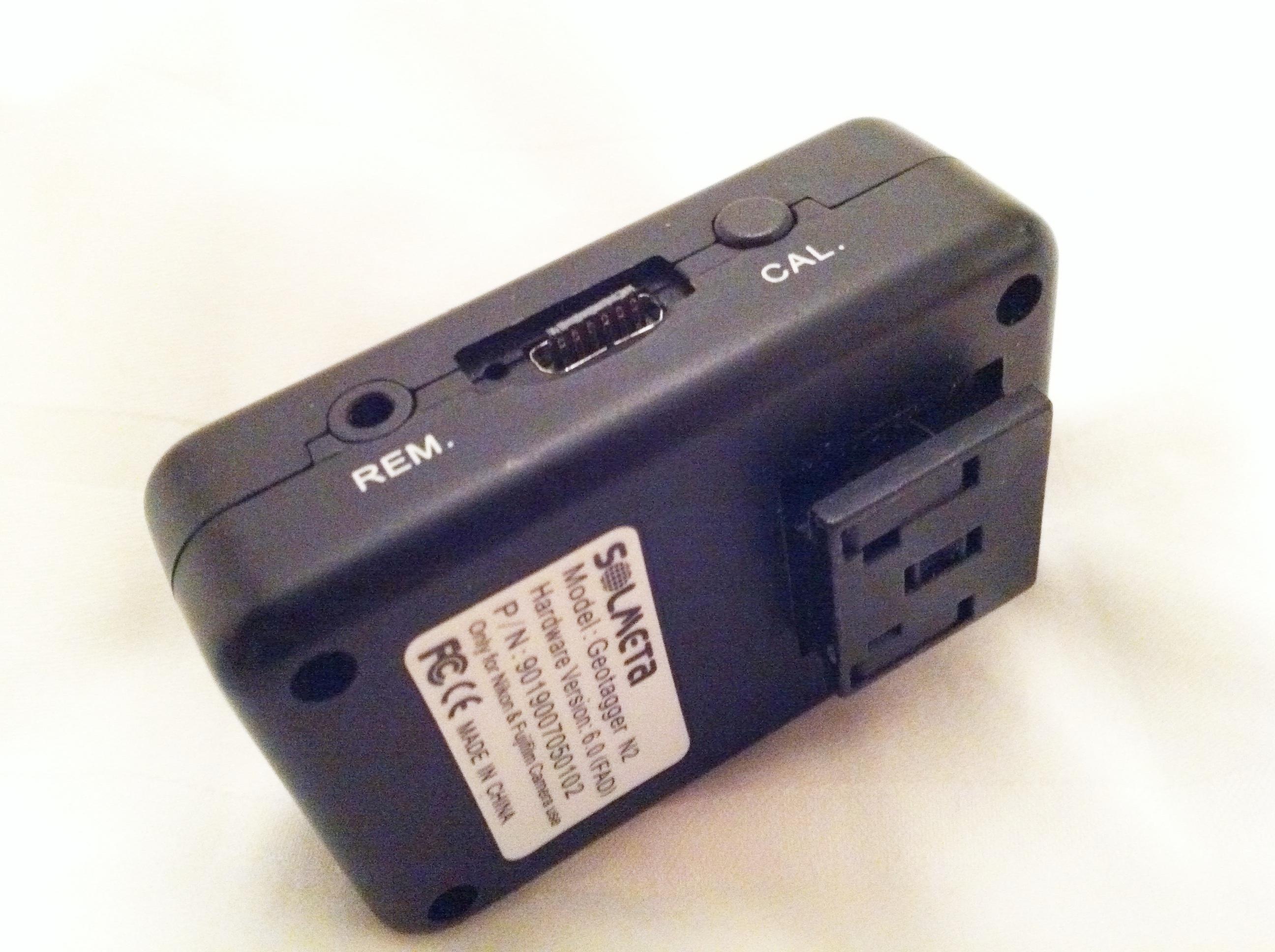 Solmeta N2 geotagger- faulty plugs