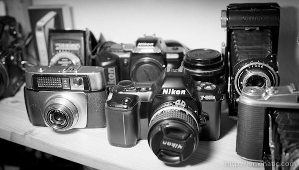 I am a photographer, not a camera salesman