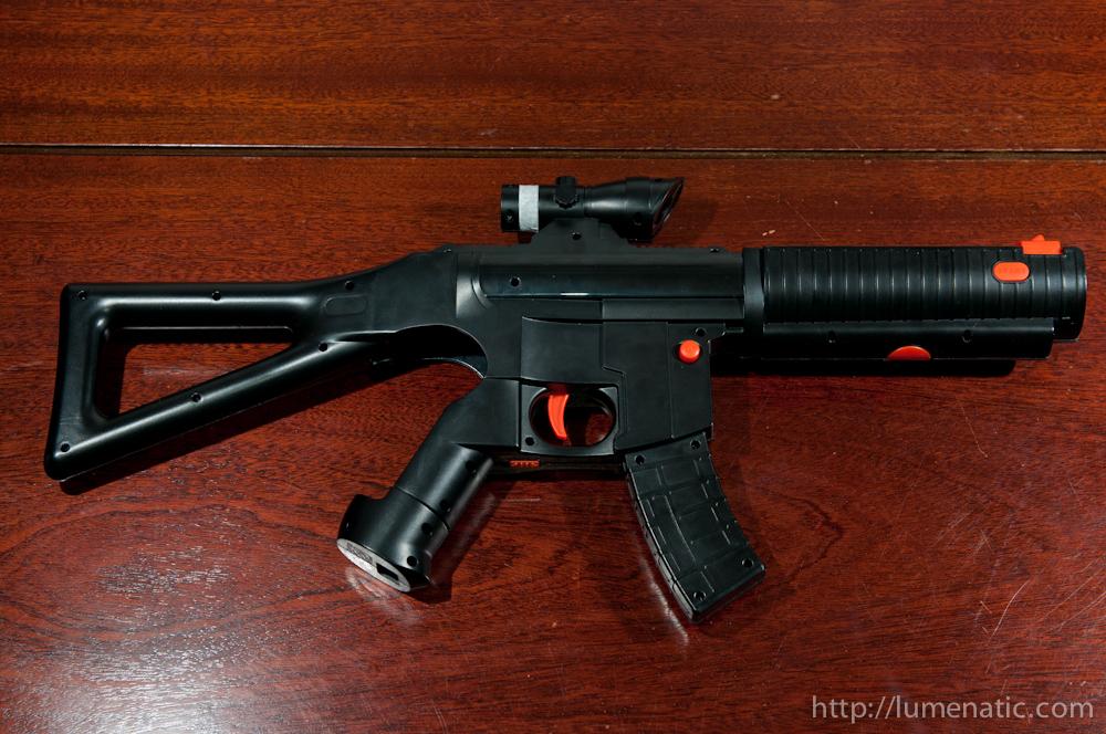 Repairing a Playstation Move Gun attachment
