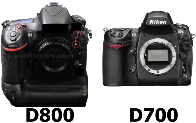 *Update* Pictures of the D800 on Nikonrumors.com