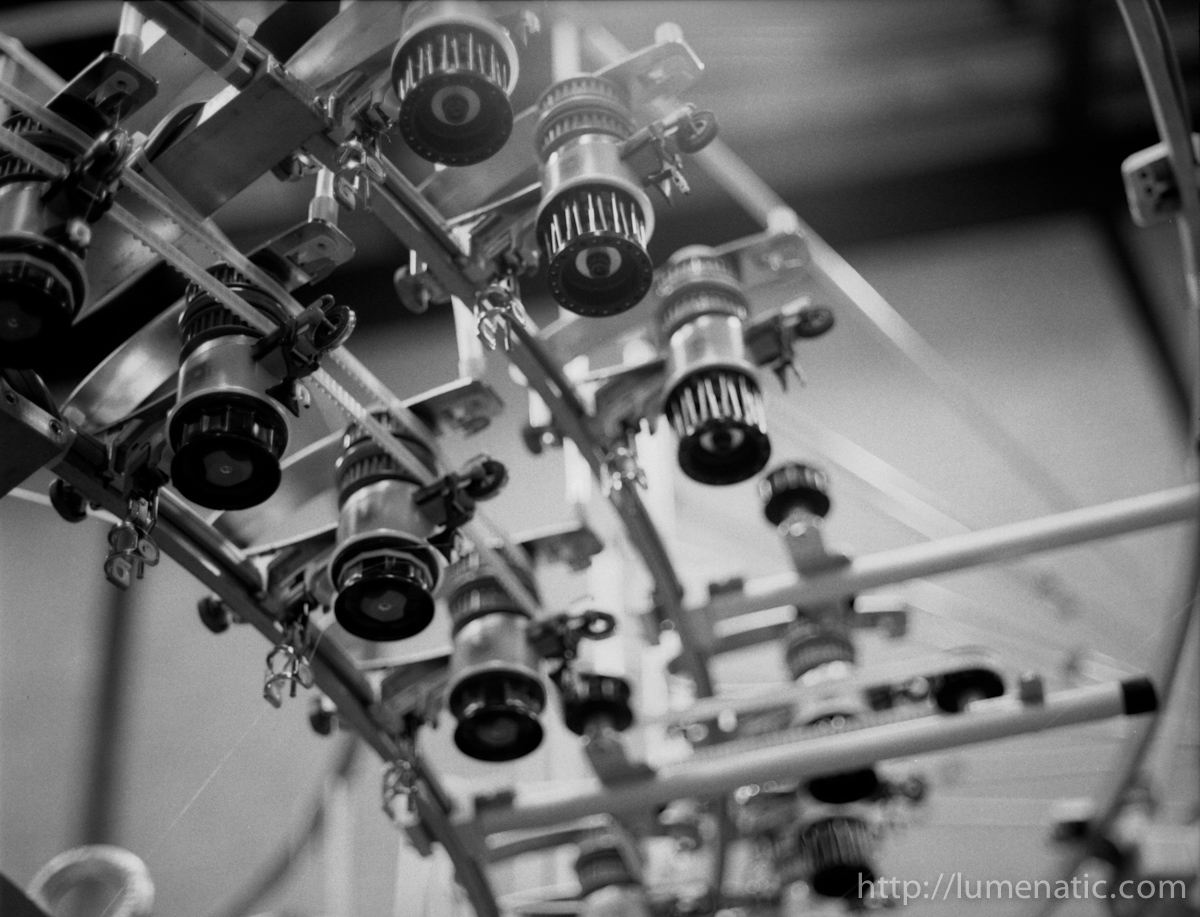 Textile production machinery