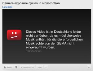 GEMA Censorship