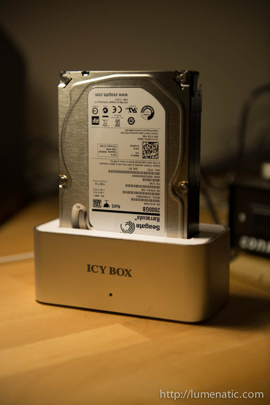 Backup your files – The Icy Box HDD dock