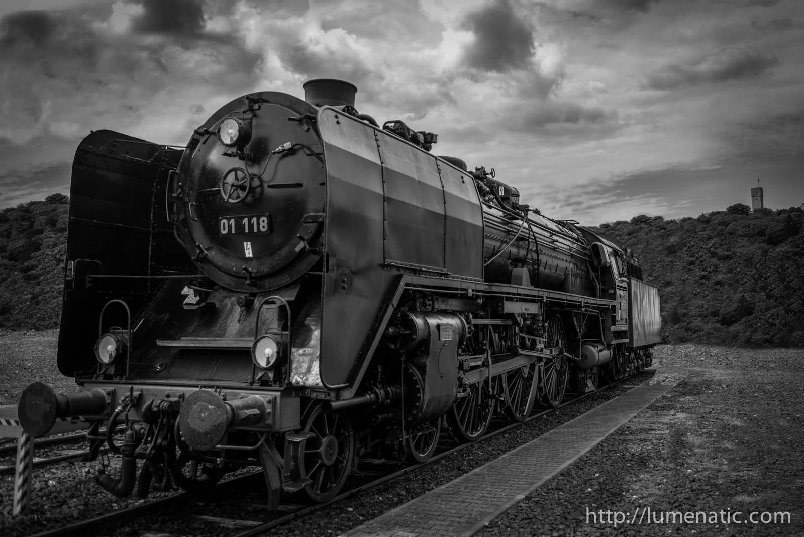 Historic steam engine (Lightroom filter presets)