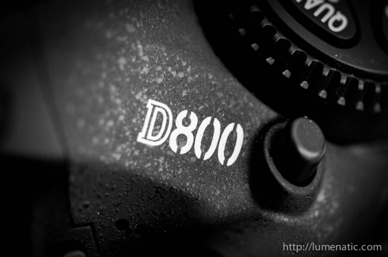 D800 – Back from service !