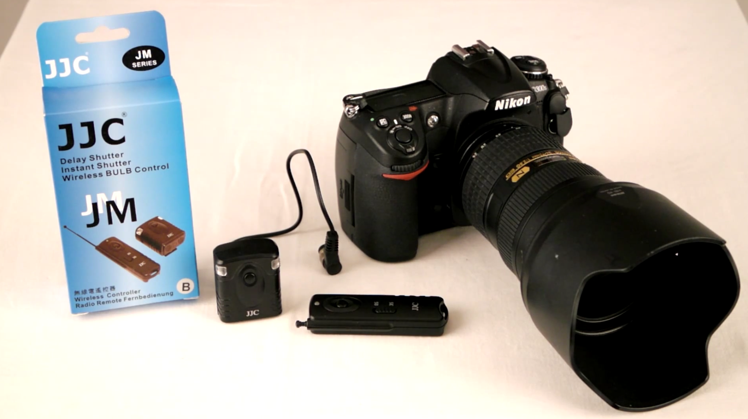 Review: The JJC wireless shutter release JM-B