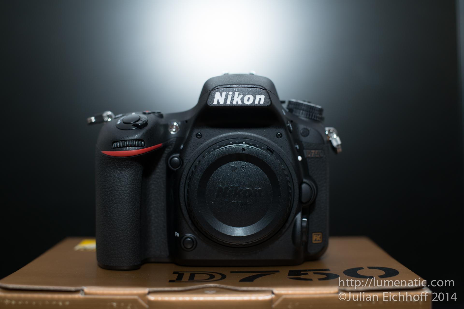 The Nikon D750 has arrived