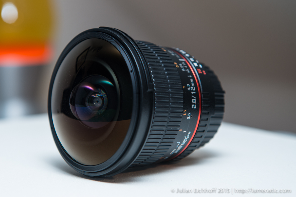 Lumenatic on NikonRumors.com with a review of the 12 mm fish-eye lens