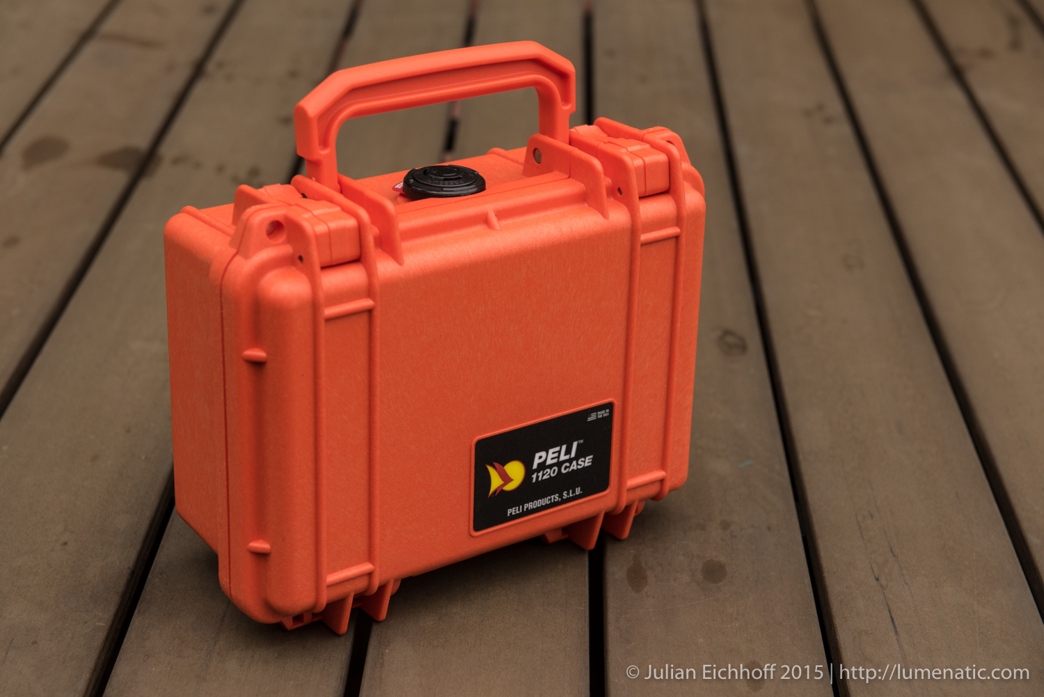 Encase your HDD in a Peli Protector 1120 case