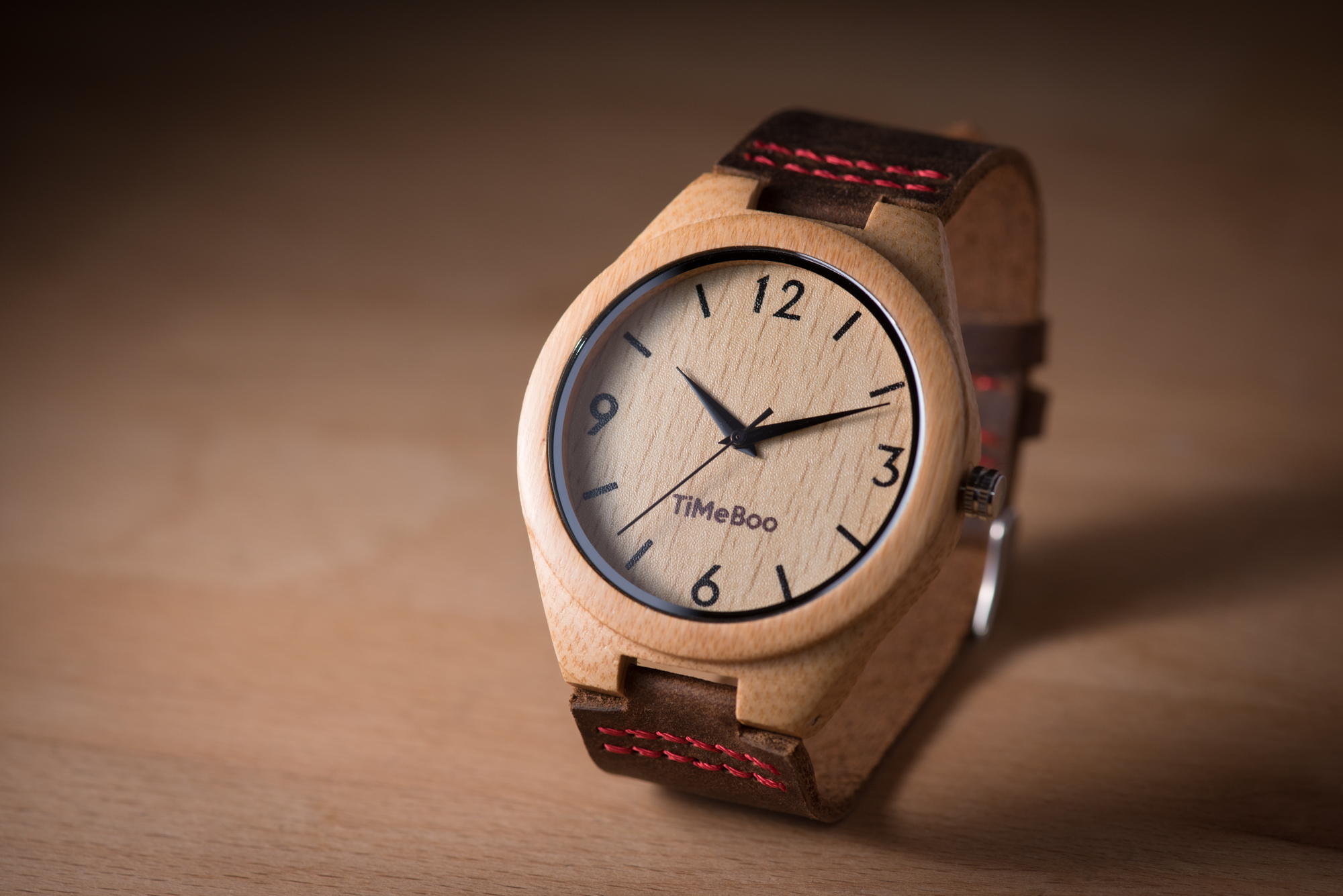TimeBoo – A watch made of Bamboo