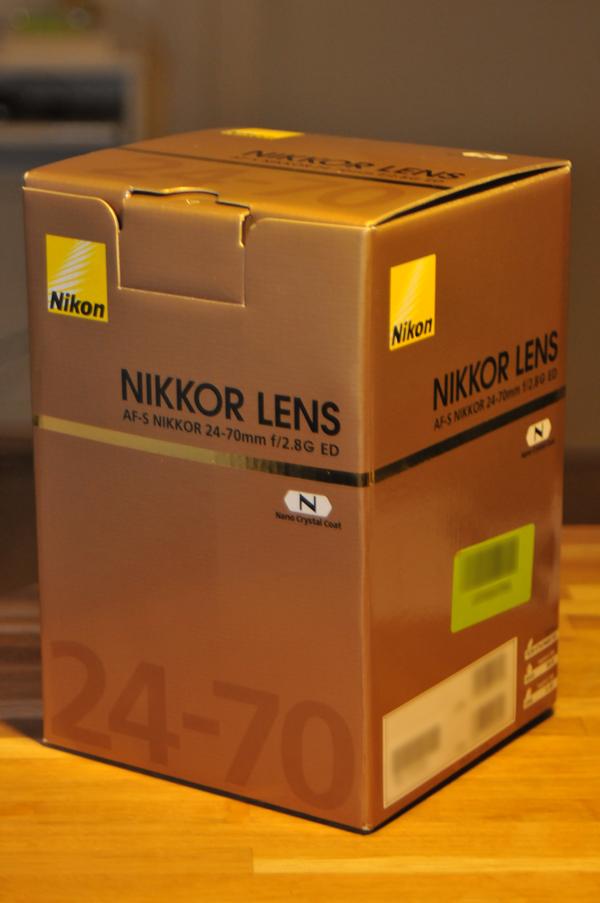 Defect eBay 24-70mm lens – update
