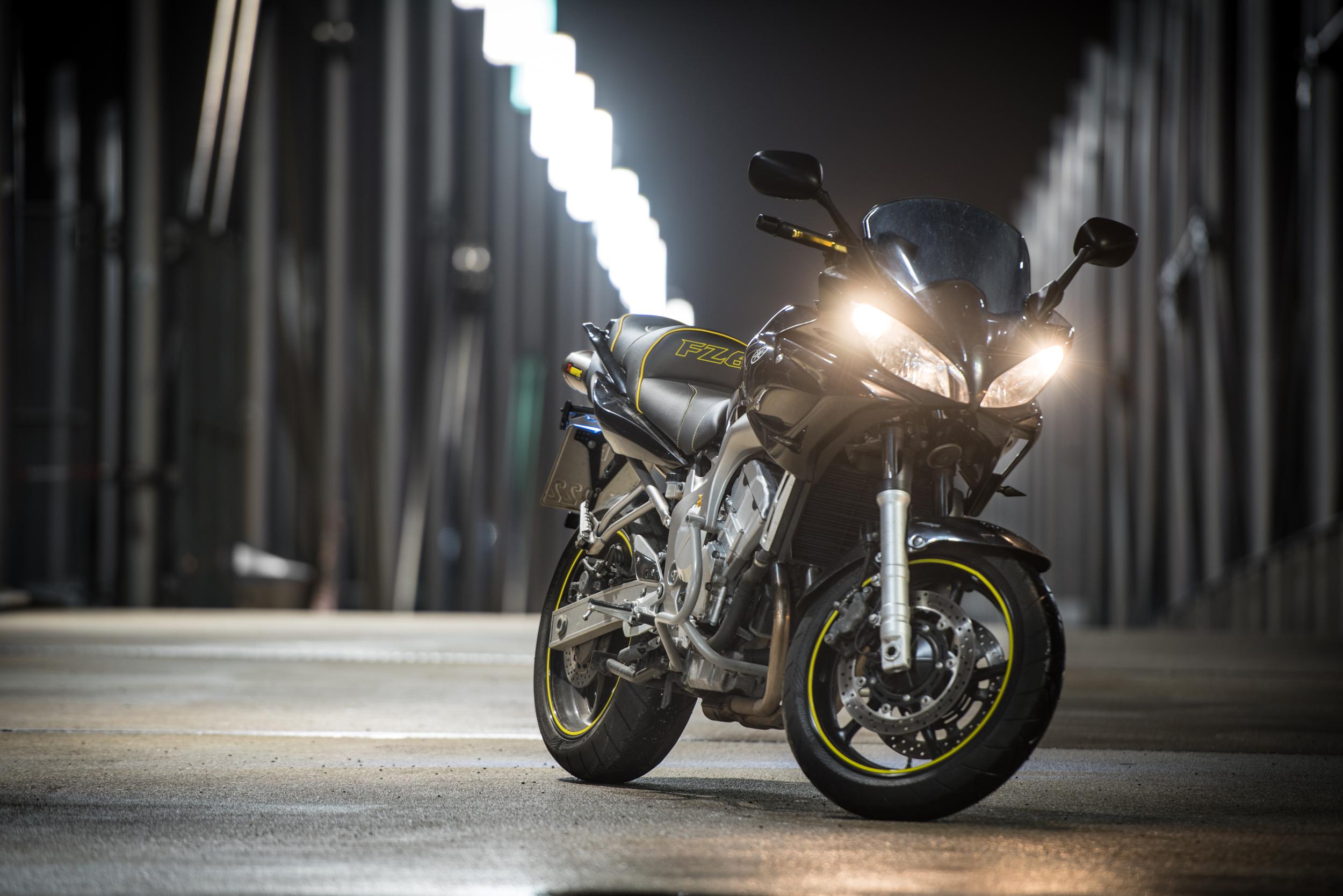 I upgraded my Yamaha FZ6 Fazer