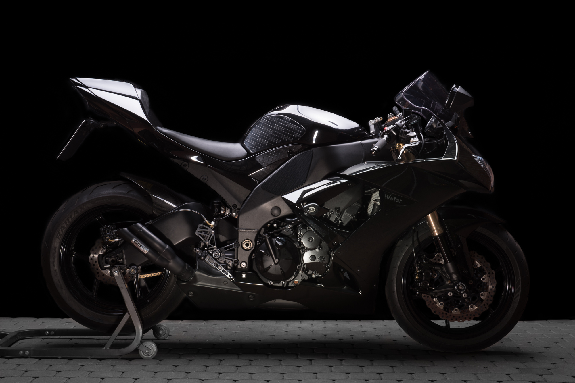 Studio Shoot, Part 3: Kawasaki ZX10R Ninja