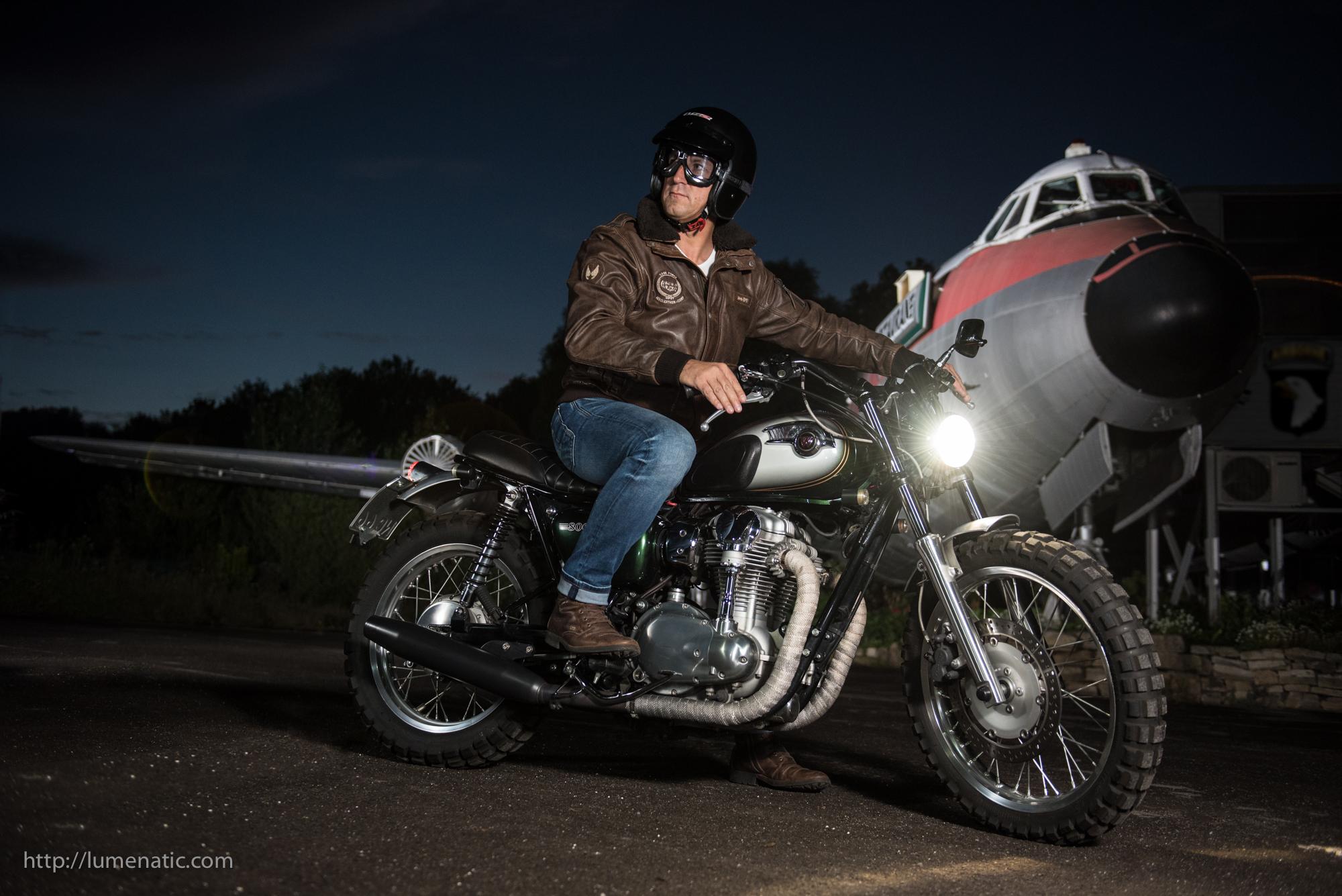 Kawasaki W800 Retro Scrambler