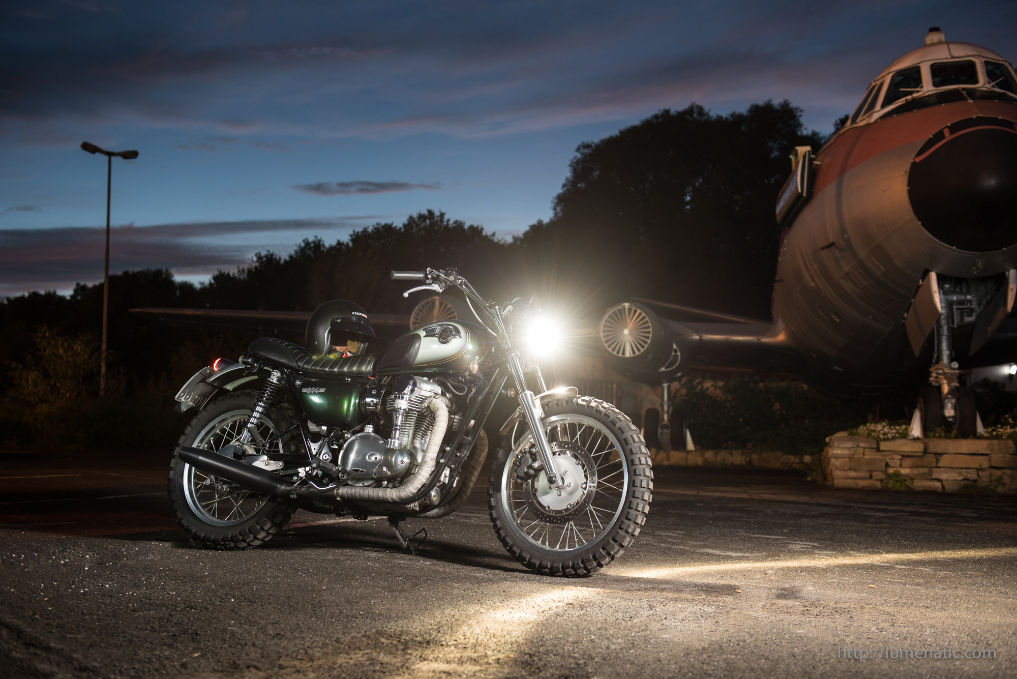 Making of: Fotoshooting Kawasaki W800 Custom Scrambler