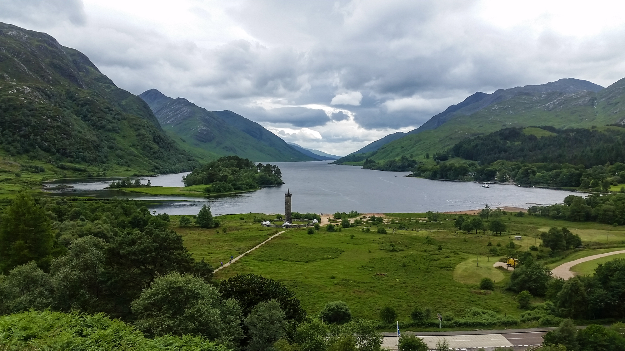 Glenfinnan Monument Panorama | Travel Photography and ... |Glenfinnan Scotland