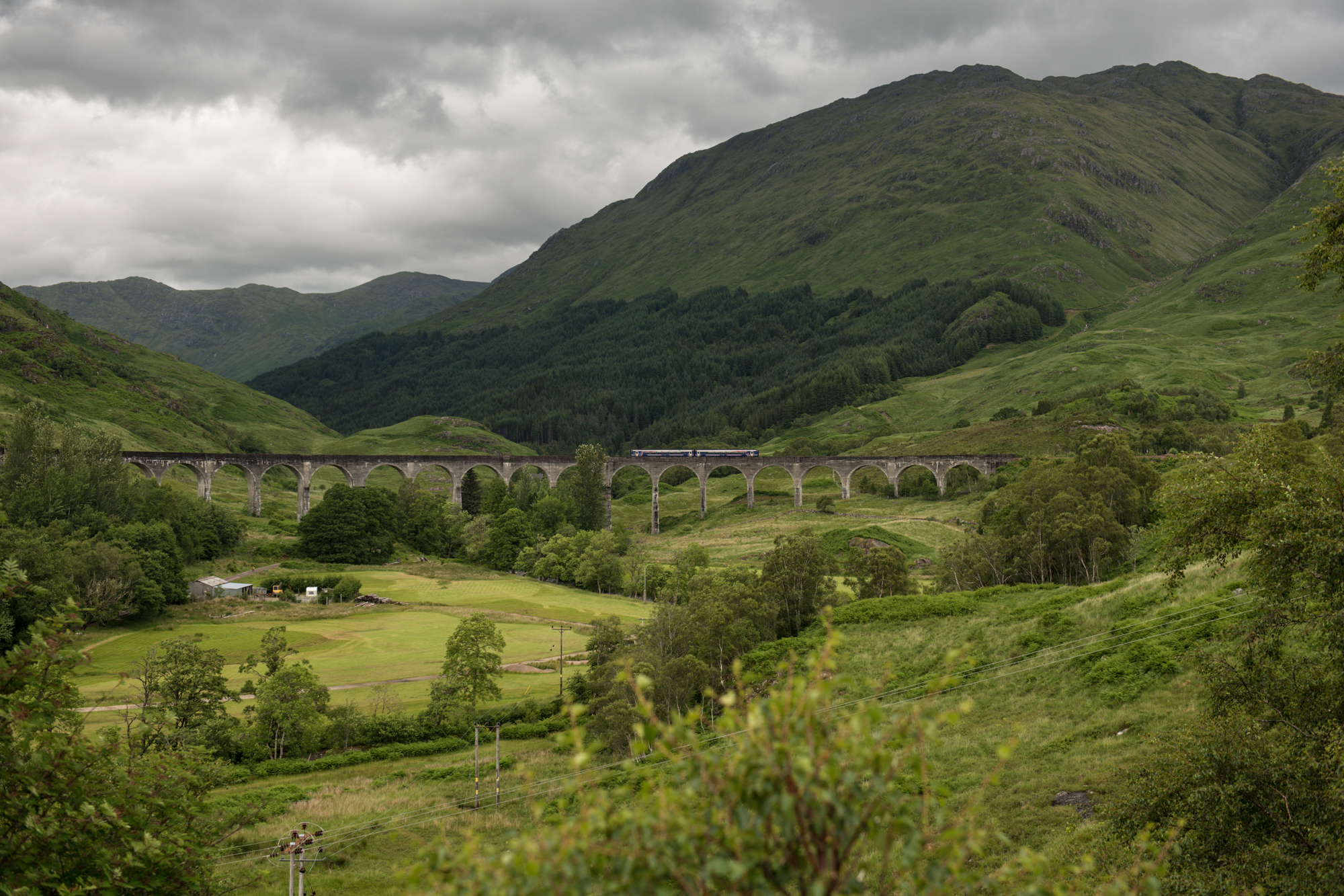 Glenfinnan Viaduct - Scotland by wandereringsoul on DeviantArt |Glenfinnan Scotland