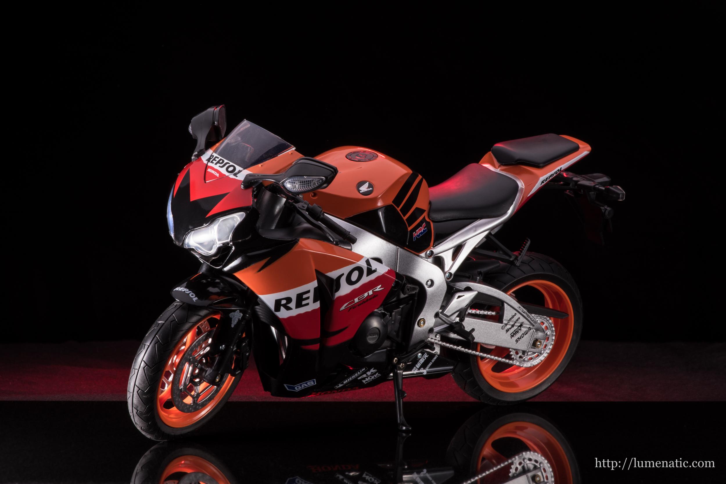 Im Studio: Honda CBR1000RR Fireblade