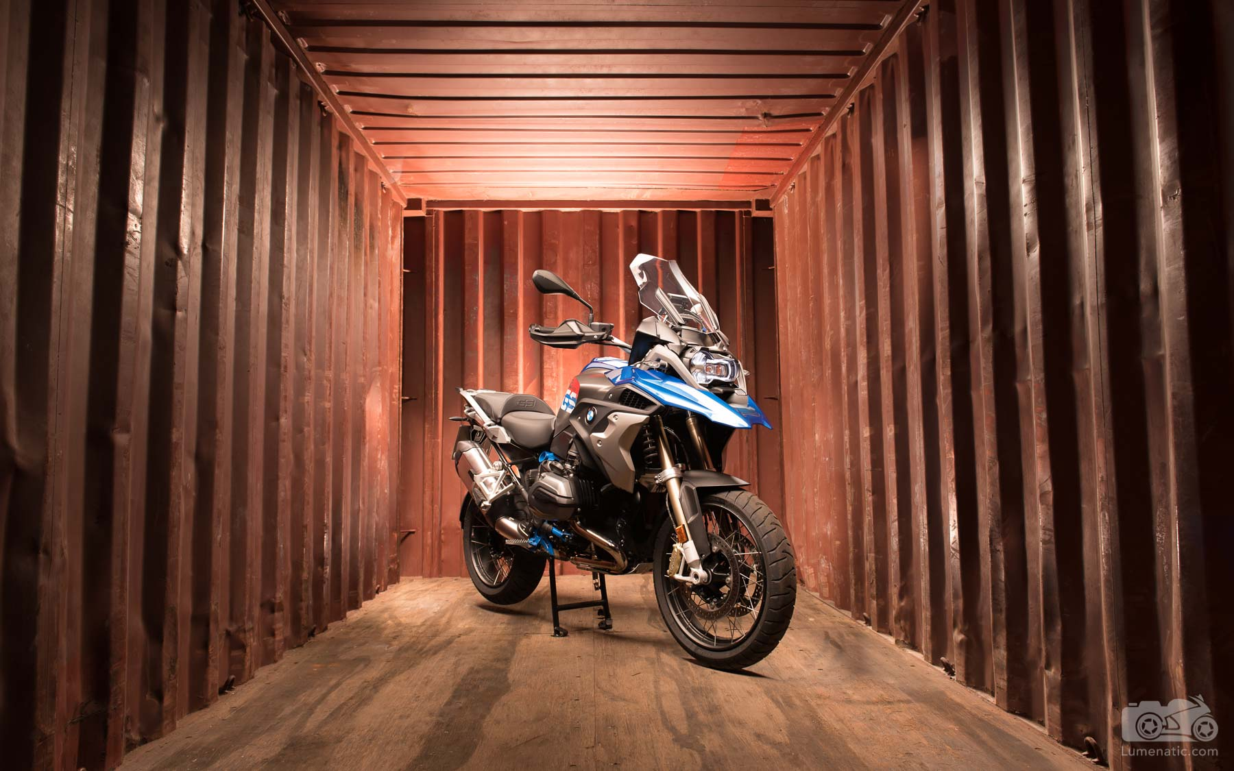 BMW R1200GS Rallye Container