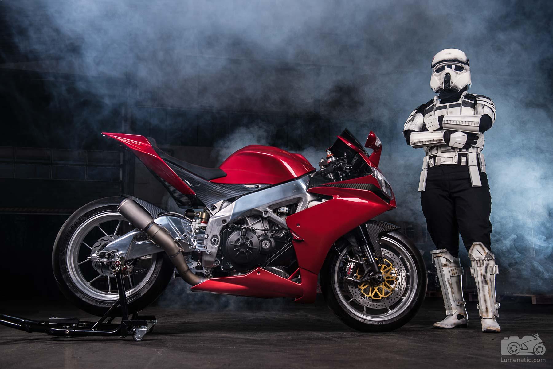 Aprilia RSV4 Star Wars Stormtrooper